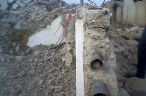 Article : Togo mort d'hommes !  Écroulement de  quatre étages en construction ! À qui la faute ?