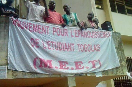 Article : Togo : AG, la rentrée s'annonce avec les contestations : MEET à la manœuvre