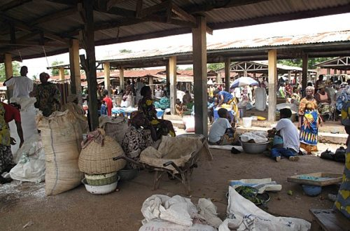 Article : kara Togo: incendie, le marché de kara a brûlé