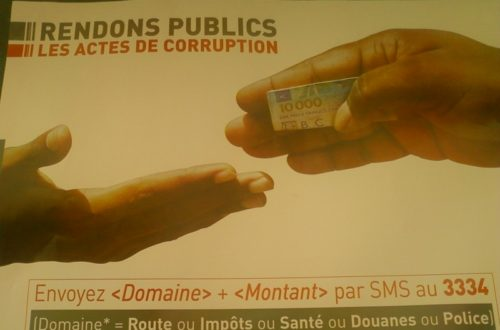 Article : Togo: rendons publics les actes de corruption