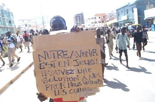 Article : Togo: De la grève aux manifestations des élèves, le gouvernement ferme provisoirement les établissements du pays
