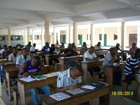 les meilleurs du Togo en pleine partie