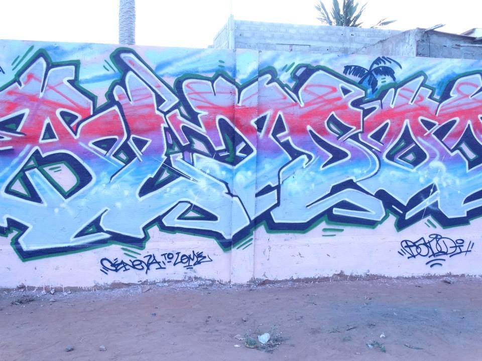 graffiti du centre mytro nunya