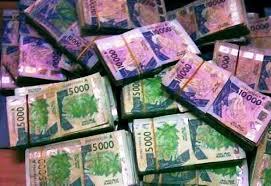 billets de banque CFA