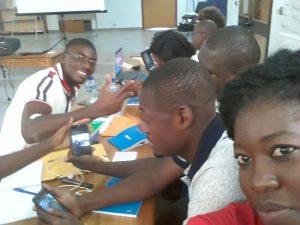 Les jeunes retenus pour être facilitateurs